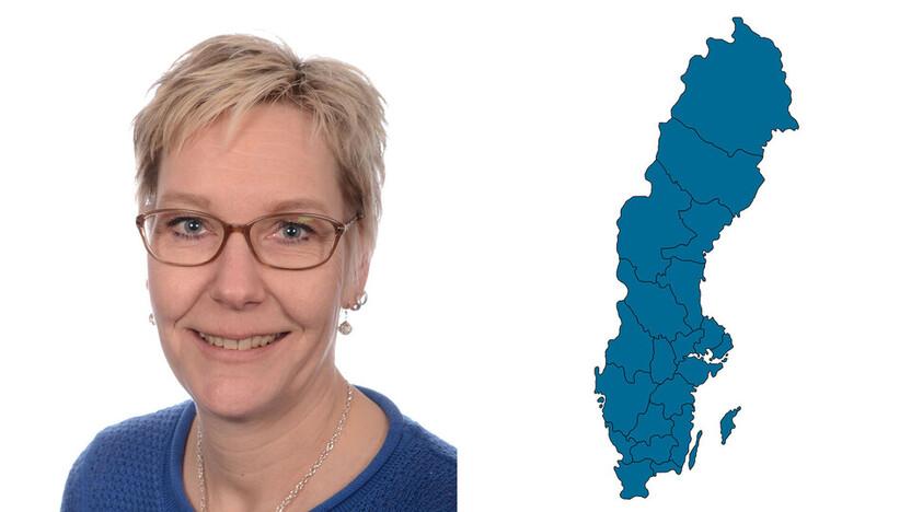 contact person, marketing, profile and map, mia bjork, maria bjork , SE