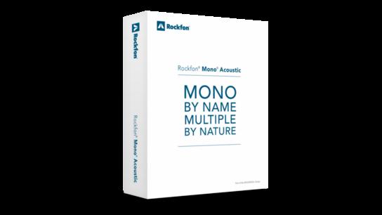 Rockfon Mono landing page, Mono sample box