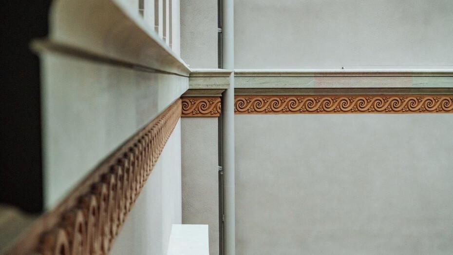 national museum, renovation project, close-up, rockfon mono acoustic, stockholm, sweden
