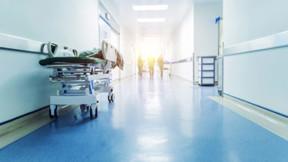 Hospital, People, Corridor
